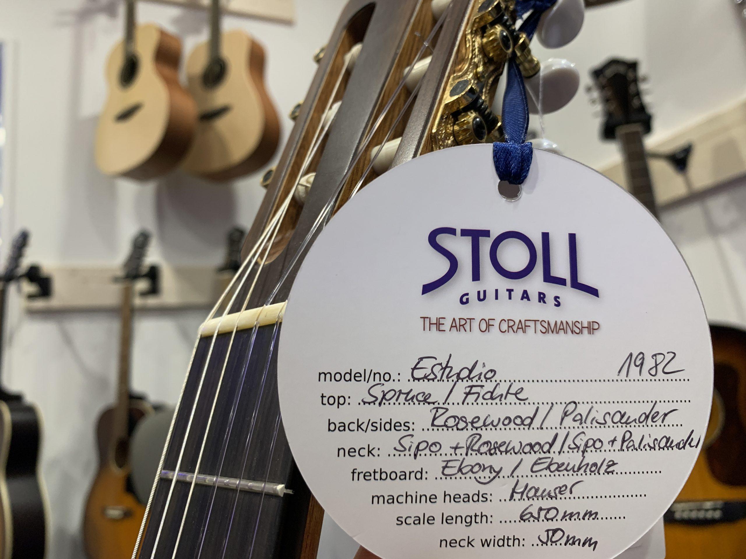 STOLL Konzertgitarre GUITAR NERDS